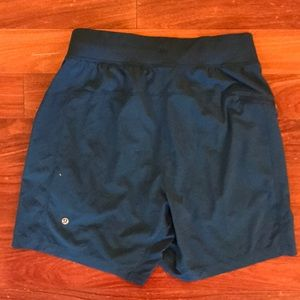 Teal Blue men's Lululemon running shorts