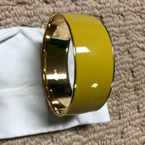 Yellow J. Crew bangle