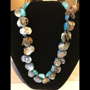Jewelry - Turquoise and shell necklace