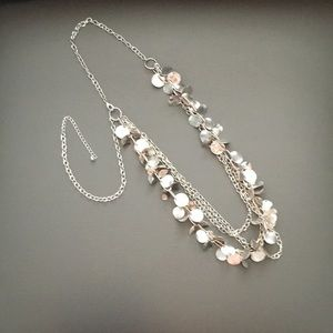 Jewelry - Silver convertible necklace