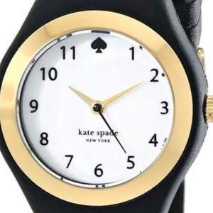 NEW Kate Spade White (Face) SPADE WatchWBlack Band