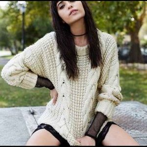 Fisherman Sweater UNIF x Urban Outfitters small