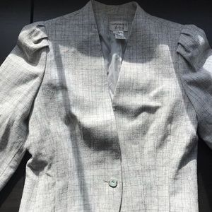 Vintage crop blazer made in Japan