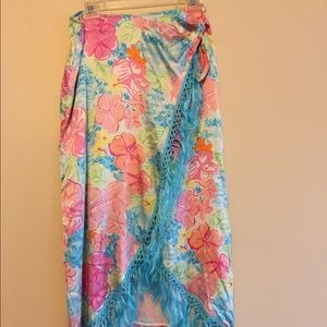 Lilly Pulitzer very colorful skirt
