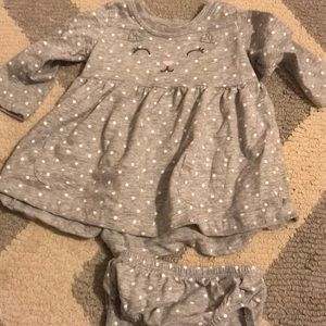 Carters size 6 month dress