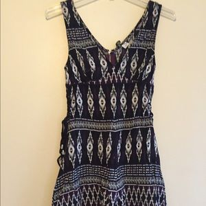 H&M short Romper with pattern