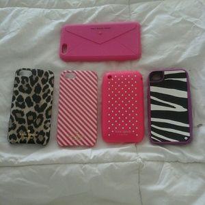 Kate Spade IPhone cases bundle