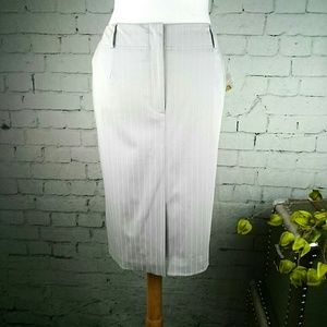 NWT Talbots pinstripe pencil skirt with stretch