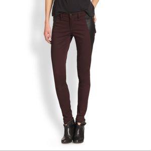 Rag and Bone Pop jeans Lamb leather 25 NWOT