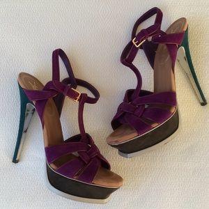 {ysl} Tribute Braided Heel
