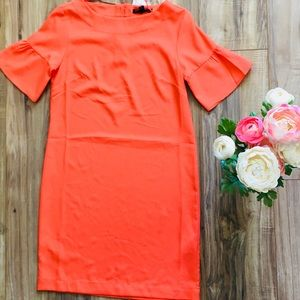 NWT Banana Republic Coral Bell Short Sleeve Dress