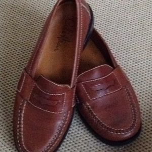 Men's Cole Haan Brown Penny Loafers Size 8.5 D