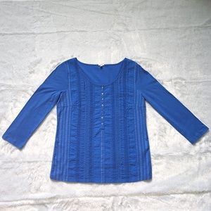 Like New J. Crew Blue Blouse