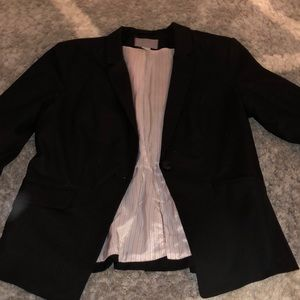 H&M Black Blazer Womens Size 12
