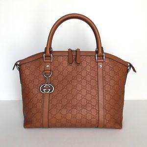 Gucci Guccissima Dome Medium Handbag