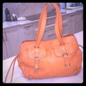 Prada Tote - Genuine Leather, Orange