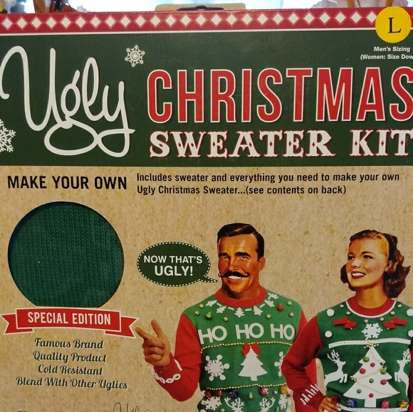Ugly Knits Sweaters Diy Ugly Christmas Sweater Kit Poshmark