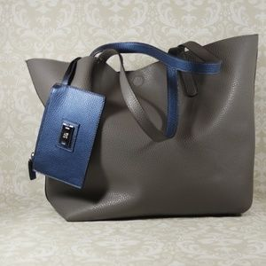 NWT Style & Co Clean Cut Reversable Tote