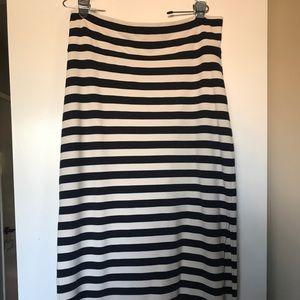 Summer & Sage maxi length skirt
