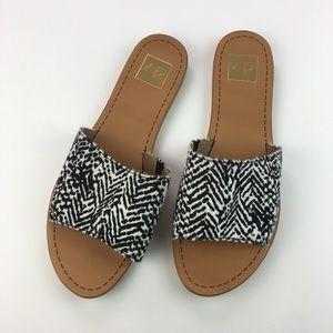 Dolce Vida Women's Slip On Sandals Calf Hair Sz 11