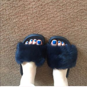 Shoes - Fur slides