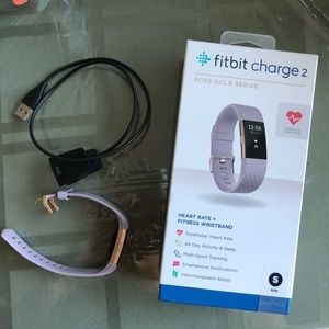Fitbit Charge 2 - Lavender/Rose Gold