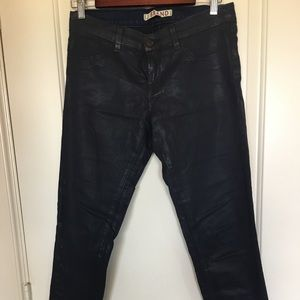JBrand coated denim sz 29, Glory leggings.