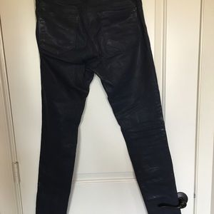 J Brand Pants - JBrand coated denim sz 29, Glory leggings.