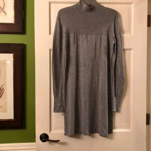 Banana Republic mock turtleneck sweater dress