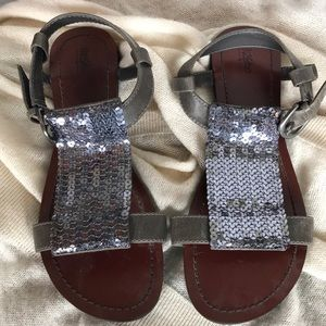NWOT Mossimo gladiator sequined sandals