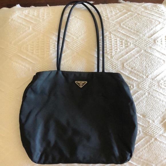 231c55d813 Authentic Black Prada Nylon Tote