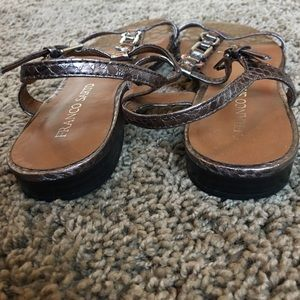 Franco Sarto Shoes - Franco Sarto sandals sz 6 bronze embellished