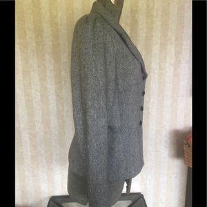 Nicole by Nicole Miller Jackets & Coats - Nicole by Nicole Miller gray tweed blazer.