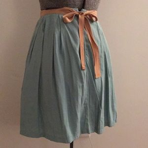 Blue Bow Skirt
