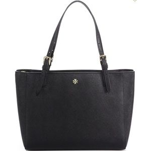NEW AUTHENTIC TORY BURCH SMALL YORK LEATHER BAG