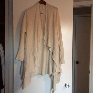 Free People open front sweater