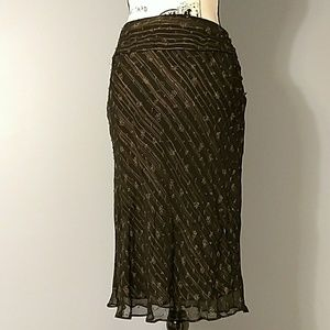 Willi Smith Silk Skirt