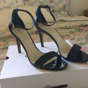 Aldo Black Strap Heels