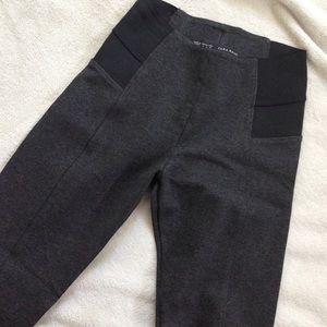 Zara high waisted gray leggings