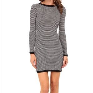 French Connection Bodycon Striped Dress