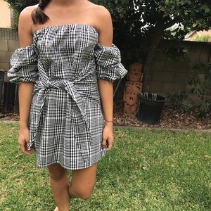 Lovers + Friends gingham dress