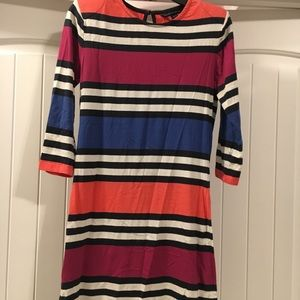 French Connection BodyCon mini striped dress