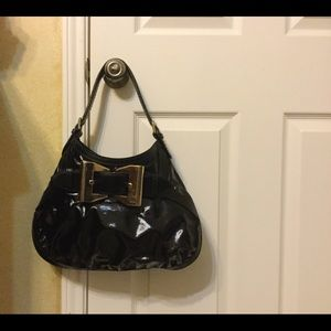 💯 Authentic Gucci Black Patent Purse