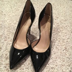 Jessica Simpson Black Patent Leather Pump