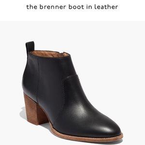Madewell Brenner Boot, Size 7 Black