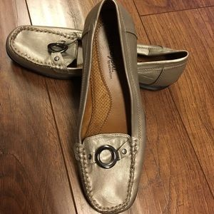 Cute Silver Loafers