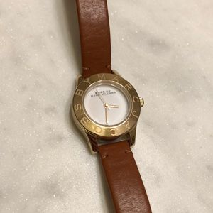 Small Marc by Marc Jacobs brown & gold watch