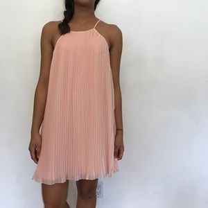 Lovers + Friends pleated dress