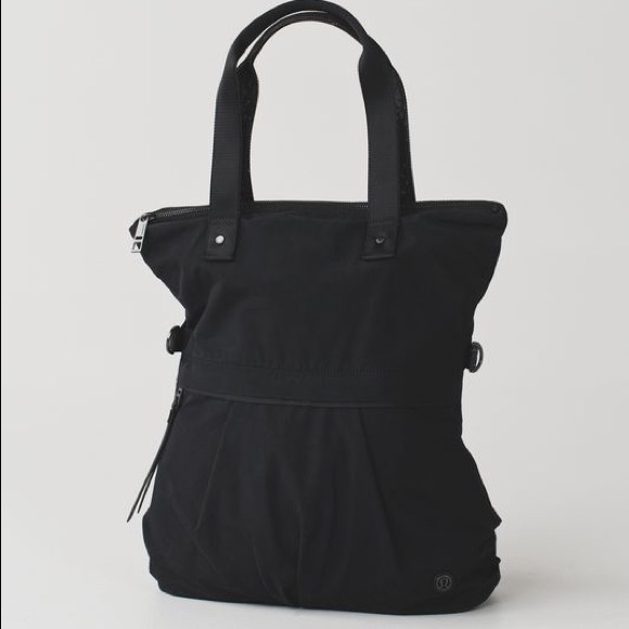 f38061de17 lululemon athletica Bags | Lululemon Twice As Nice Tote In Black ...