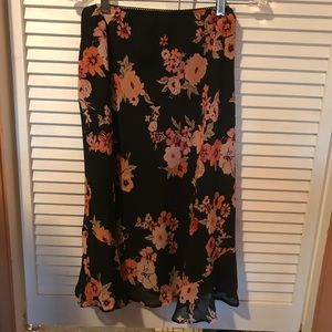 Notations Women's Midi Swing Skirt XL NWT!!